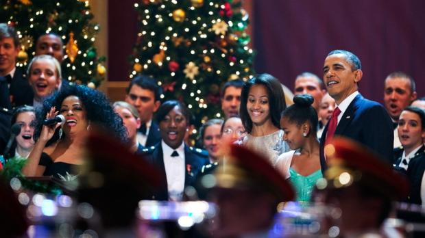 Christmas in Washington concert, Dec. 9, 2012