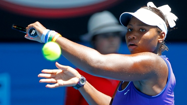 Taylor Townsend on Jan. 28, 2012.
