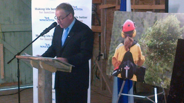 Premier Darrell Dexter said despite the increase in its debt, the province has acquired a valuable asset.