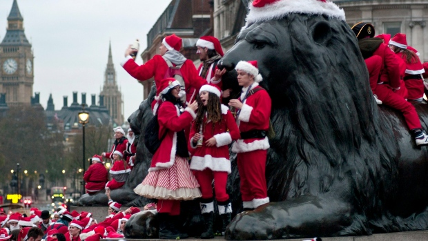 SantaCon across the world