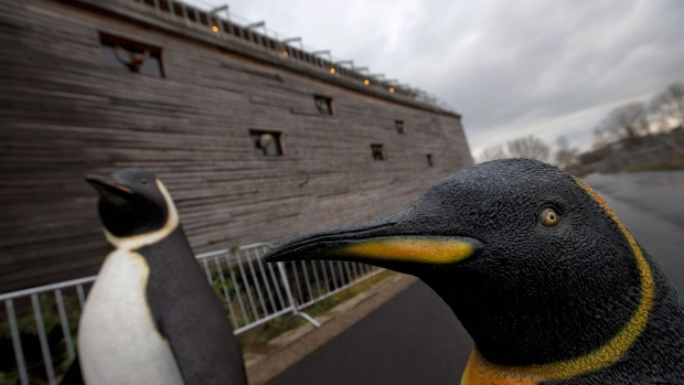 Life-sized replica of Noah's Ark launched
