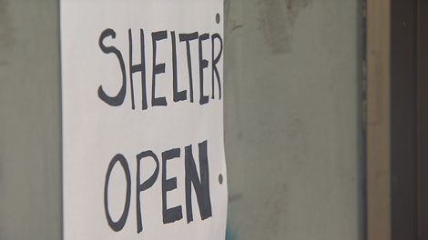 A new emergency shelter in Vancouver's Mount Pleasant neighbourhood opens its doors. Nov. 25, 2010. (CTV)
