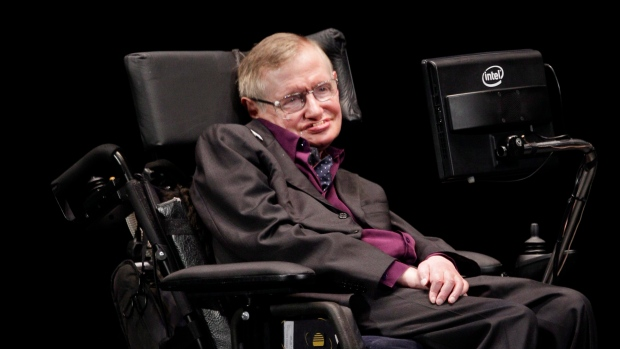 Physicist and best-selling author Stephen Hawking