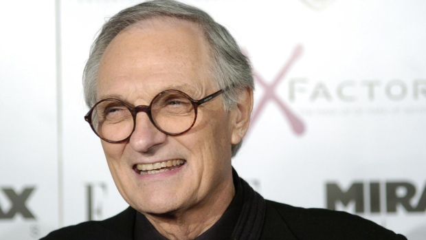 Actor Alan Alda in Los Angeles