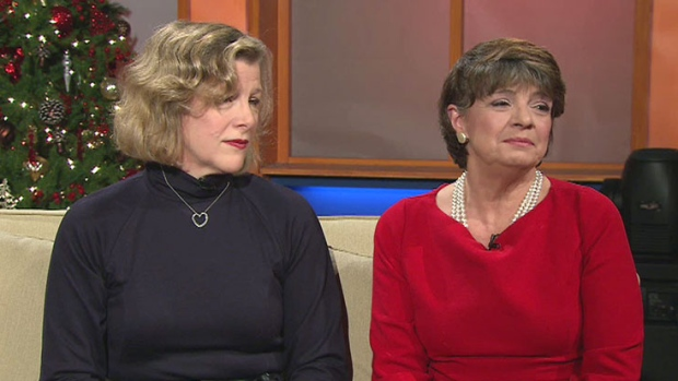 Karen Sisson and Donna Clarke appear on CTV's Canada AM on Dec. 11, 2012.