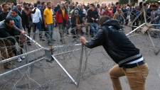 Opposition protestors attacked in Egypt