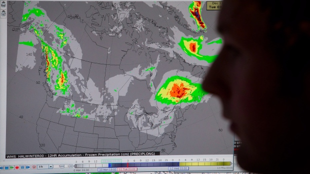Wild weather across Canada