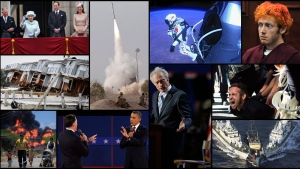 <b>100 Photos: Looking back at the events that shook the world in 2012</b><br><br>It was a year that saw Barack Obama re-elected as president of the United States after the most expensive election campaign in history, and Queen Elizabeth II celebrate her 60-year rule. In 2012, the world joined together to celebrate its best athletes in London, and watched in awe as riots erupted in the Middle East over an anti-Islamic film. CTVNews.ca looks at some of the most remarkable, controversial, tragic and iconic images from around the world in 2012.
