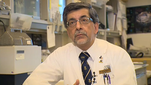 University of Alberta researcher Jack Jhamandas says the drug AC253 could pave the way for treatment of Alzheimer's disease.