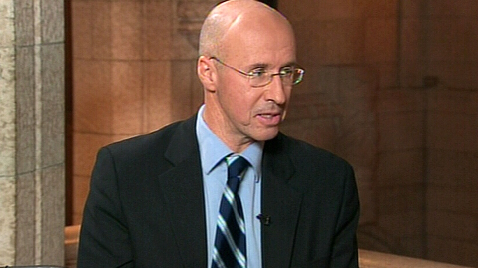 Parliamentary Budget Officer Kevin Page appears on CTV's Power Play on Tuesday, Dec. 11, 2012.