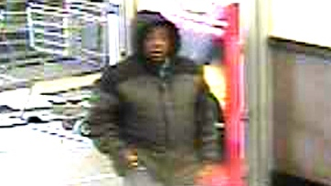 WRPS needs the public's assistance in locating this man seen in Wal-mart surveillance video. Submitted photo Dec. 11, 2012