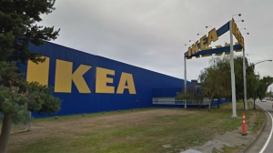The outside of the Richmond IKEA location is seen in this undated Google Maps image.