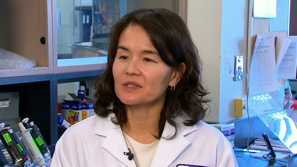 Dr. Christine Lee is an infectious disease specialist at St. Joseph's Hospital in Hamilton and the lead researcher on this study.