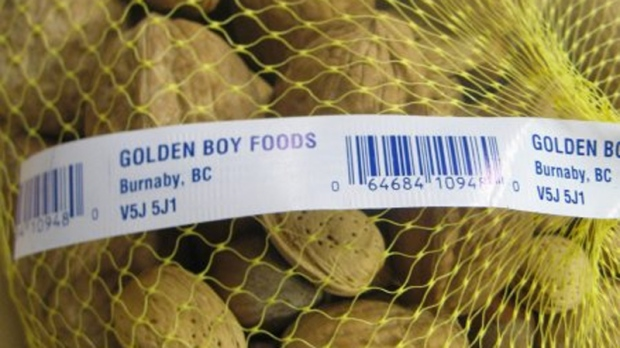 Golden Boy brand Inshell Mixed Nuts