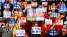 South Korea North Korea rocket launch
