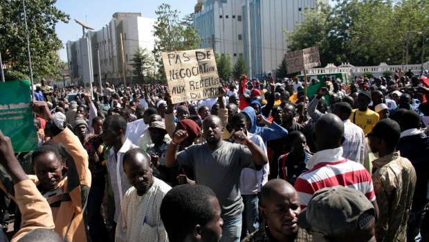 Mali Prime Minister protest