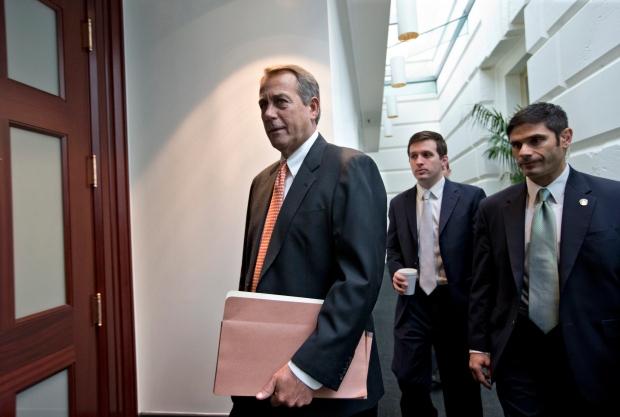 John Boehner U.S. fiscal cliff