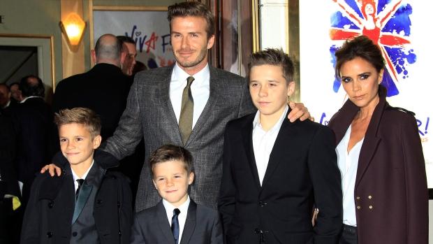 Beckham family Victoria Beckham Spice Girls