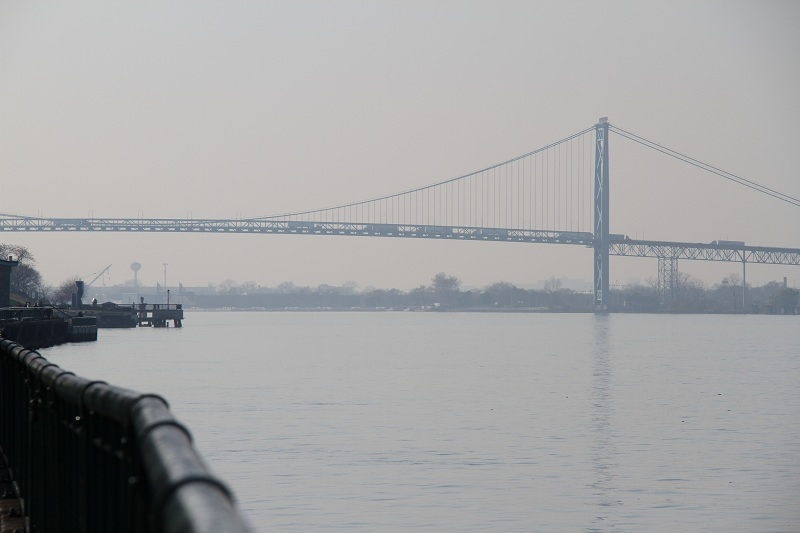 The Ambassador Bridge in Windsor is shown in this file photo. (Melanie Borrelli / CTV Windsor)
