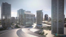 Downtown arena Edmonton new design