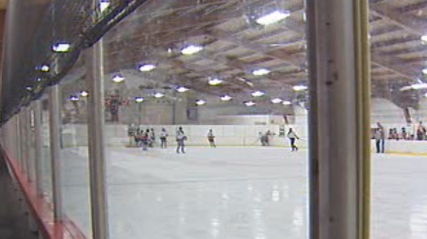 Norberry-Glenlee Knights hockey game