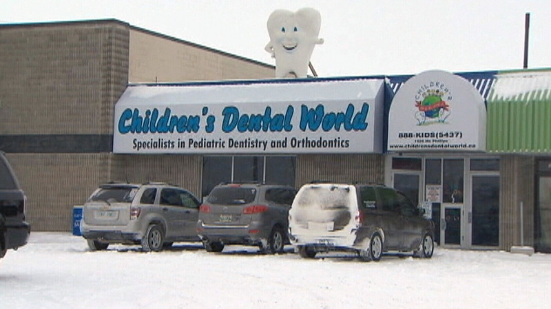 A four-year-old girl was rushed to hospital after receiving general anesthetic at a Winnipeg dentists' office.