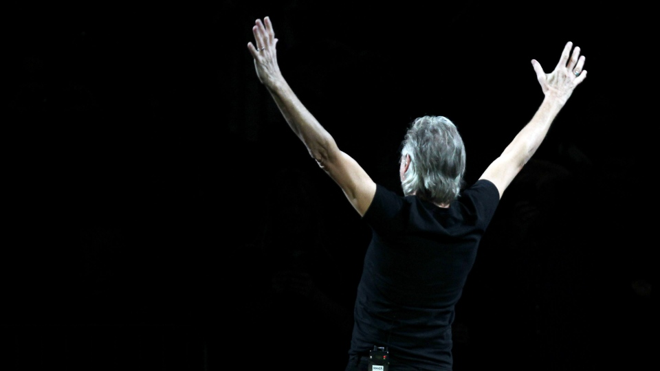 Roger Waters performs at 12-12-12, The Concert for Sandy Relief at Madison Square Garden in New York on Wednesday, Dec. 12, 2012. (AP / Starpix, Dave Allocca)