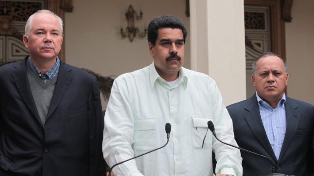 Venezuela's Vice President Nicolas Maduro