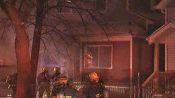 Crews were called to a house fire on Pritchard Ave