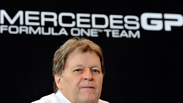 Norbert Haug Mercedes Racing