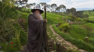 Ian McKellen as Gandalf in a scene from Warner Bros. Canada's 'The Hobbit: An Unexpected Journey.'