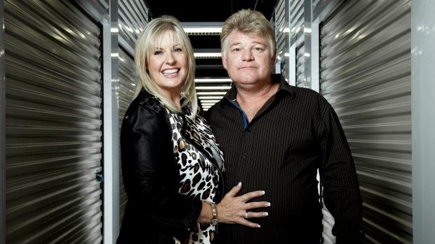 Dan and Laura Dotson Storage Wars