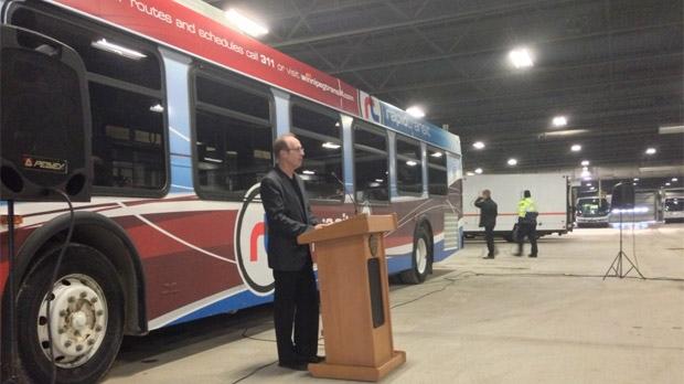 Winnipeg rapid transit funding announcement