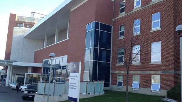 St. Mary's Hospital in Kitchener, Ont., as seen on Thursday, Dec. 13, 2012. (David Imrie / CTV Kitchener)