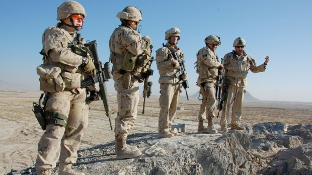 Canadian soldiers in Afghanistan