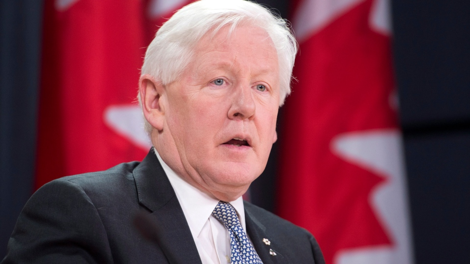Interim Liberal Leader Bob Rae speaks about the government's military procurement of the F-35 fighter planes, in Ottawa, Thursday, Dec. 13, 2012. (Adrian Wyld / THE CANADIAN PRESS)