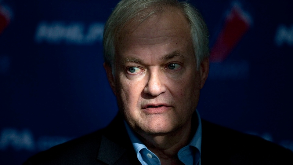 NHLPA executive director Donald Fehr speaks to the press following collective bargaining talks in this October 2012 file photo. (Chris Young / THE CANADIAN PRESS)