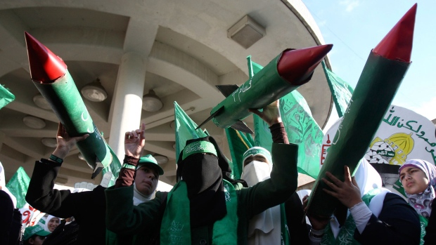 Hamas holds Westbank protest