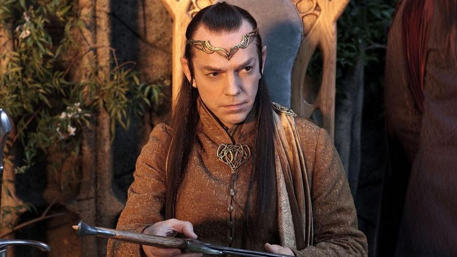 Hugo Weaving in Warner Bros. Canada's 'The Hobbit: An Unexpected Journey.'