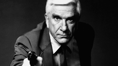 Leslie Nielsen as Lt. Frank Drebin in Paramount's 'The Naked Gun: From the Files of Police Squad!'