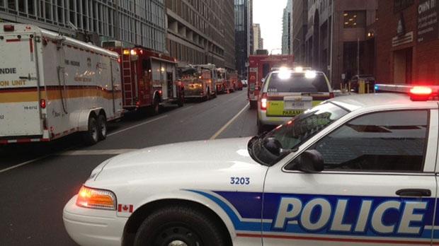 Laurier Avenue closed due to gas leak