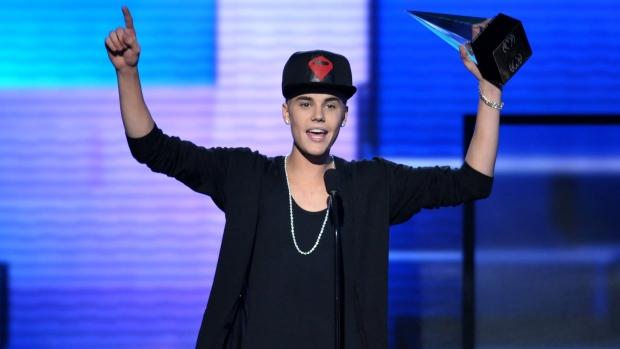 bieber Grammy snub