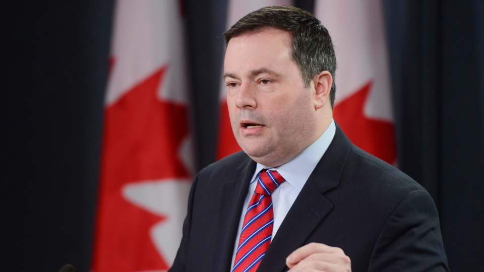Minister of Citizenship, Immigration and Multiculturalism Jason Kenney speaks during a news conference in Ottawa on Dec.14, 2012. (Adrian Wyld / THE CANADIAN PRESS)