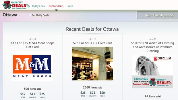 Your City Deals was asked to take its online deal on M&M Meats gift cards off its website