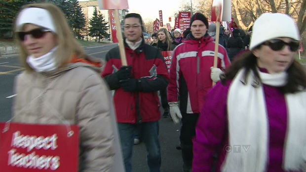 CTV Toronto: GTA prepares for teacher walkout