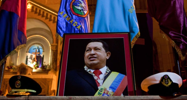 Chavez gives responsibilites to vice-president