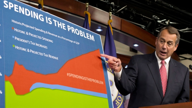 John Boehnerspeaks about 'fiscal cliff'