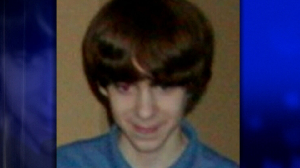 Named as the Newtown school shooting suspect, Adam Lanza is seen in this photo taken seven years ago when he was a 13-year-old.