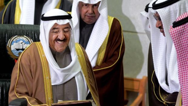 Sheikh Sabah Al Sabah at inauguration