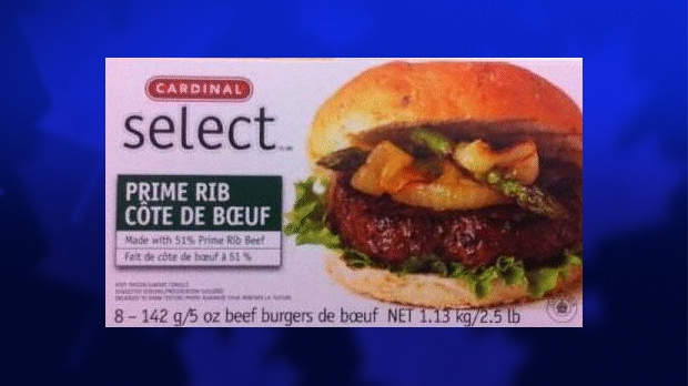 Cardinal Select Prime Rib Beef Burgers